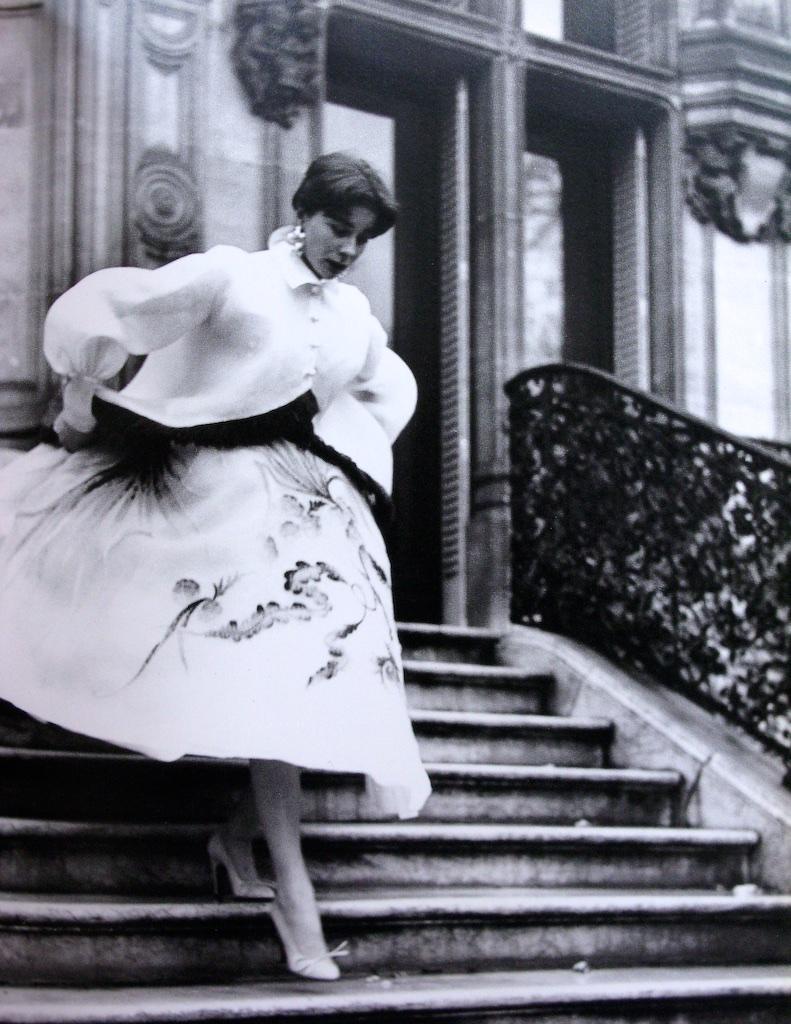 Dior demi-longueur length gown for Vogue Magazine,