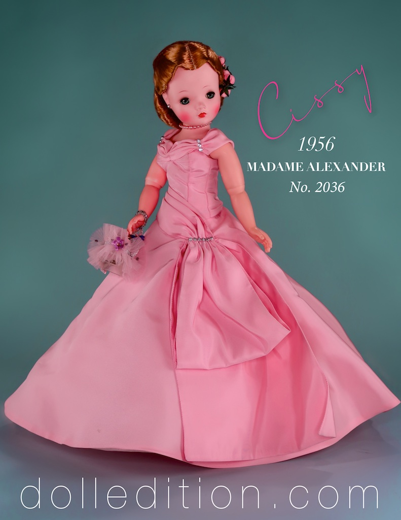 This gown also came as an extra boxed outfit in several colors.