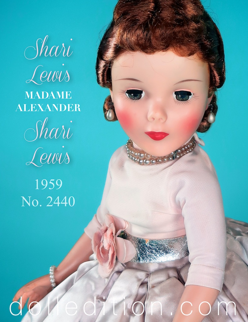 A very rare doll. To this point, the only example of this doll available - 1959 Shari Lewis No. 2440