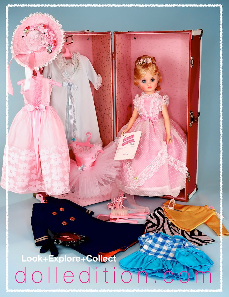 """Elise Takes a Trip""  - 1971 FAO Schwarz Christmas Catalog - There was a trunk set price increase from $65.00 to 75.00 from the previous year."