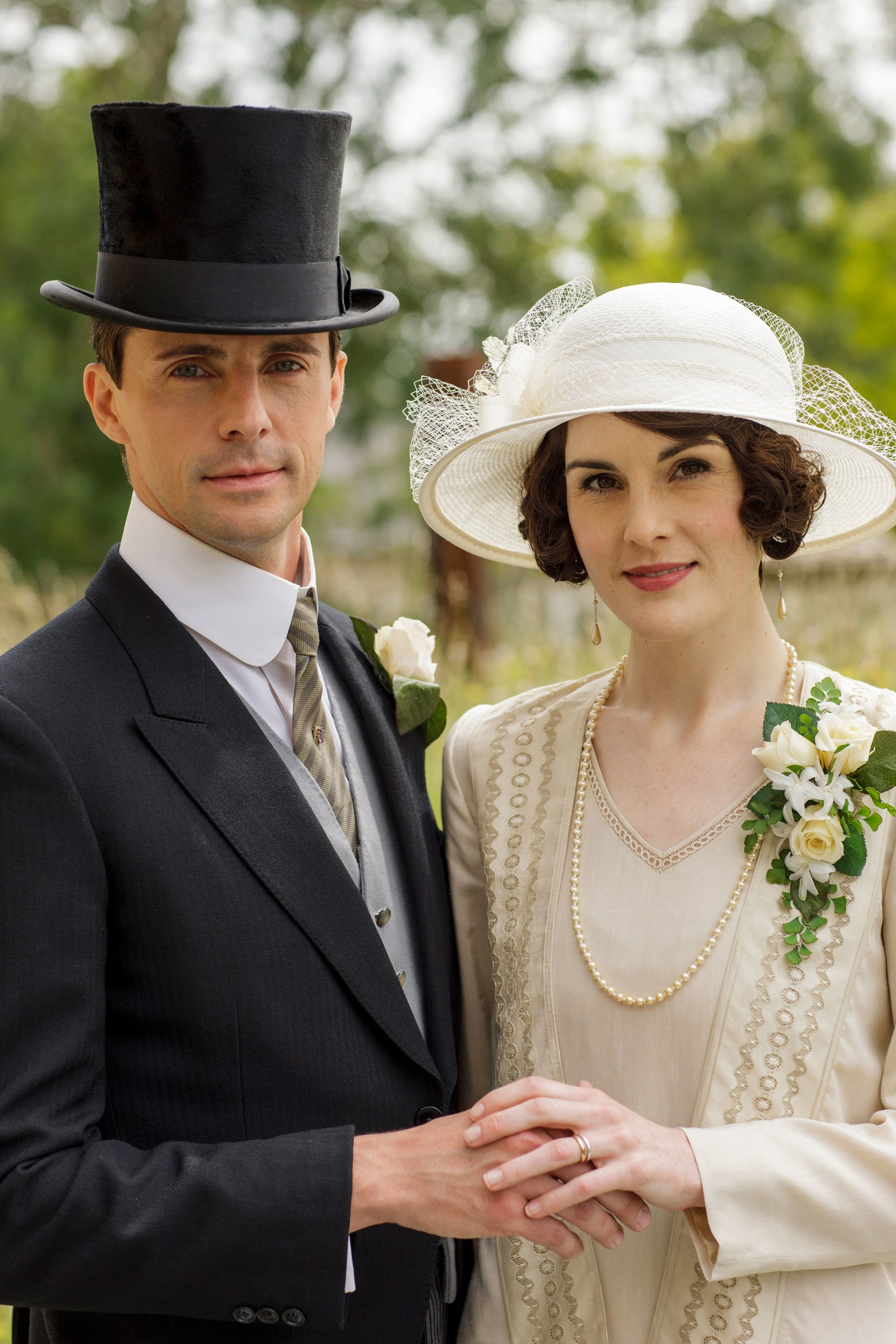 Part of the universal charm of Downton Abbey is the beautiful costuming that reflects both the period the production is taking place and the characters wearing these costumes. The nuance of design and detail is remarkable and ever changing as the storyline progresses.