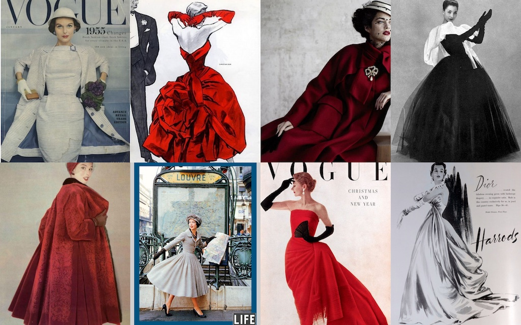 Dior was the leader of the fashion pack until his death in 1957. Yves Saint Laurent took over before moving on to his on fashion house and opening the way to a fresh new look that would again sweep the fashion industry.