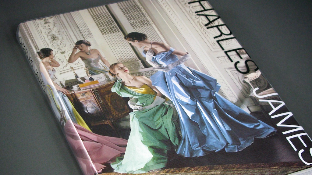 """Cecile Beaton, was friend and photographer to equally extreme and eccentric American fashion designer Charles James. Some of the most iconic photos of James fashion was photographed by Cecile Beaton. The cover of """"Charles James"""" Metropolitan Museum 2014 exhibition - Charles James: Beyond Fashion."""
