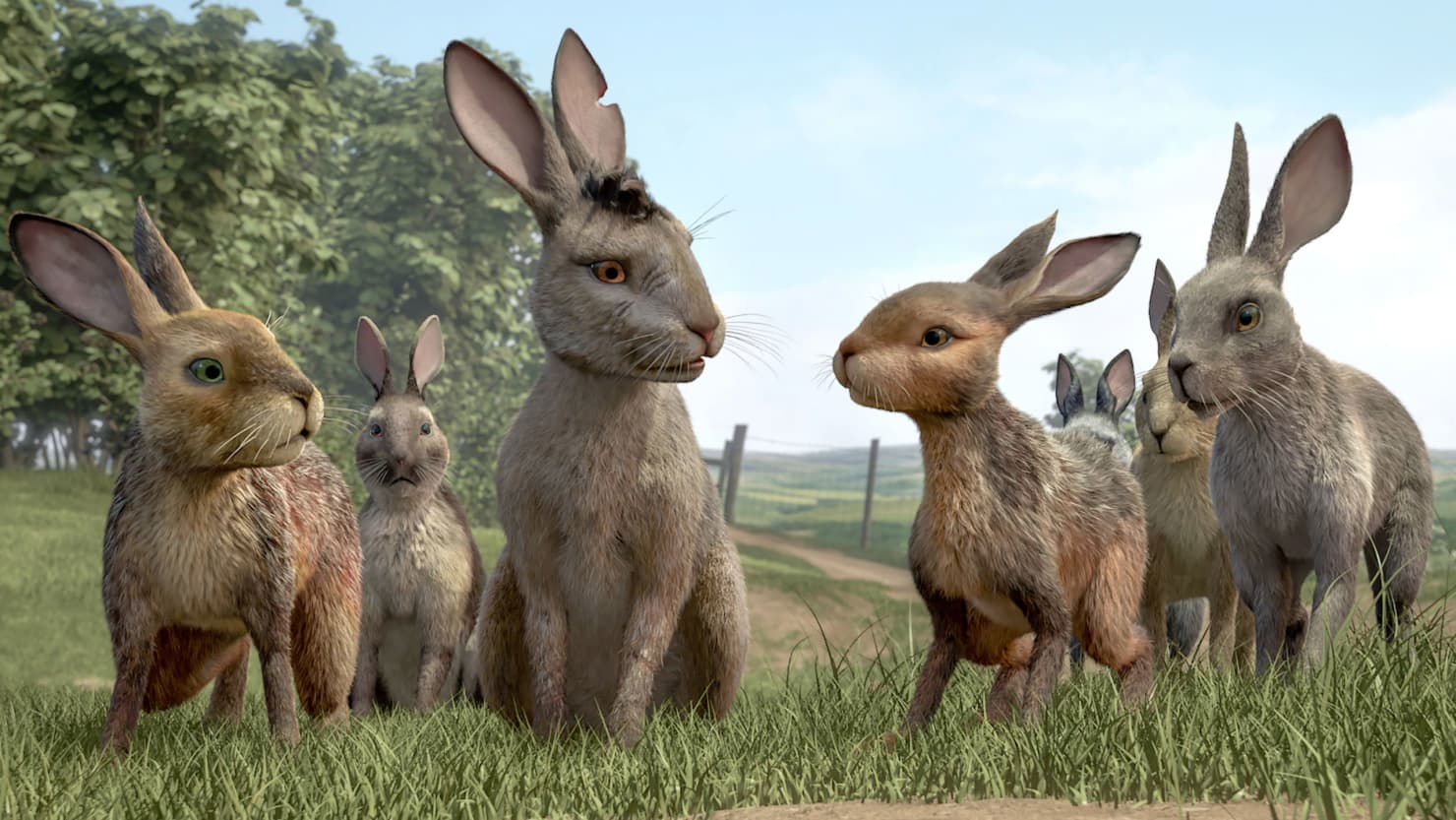 The furry heroes of Watership Down