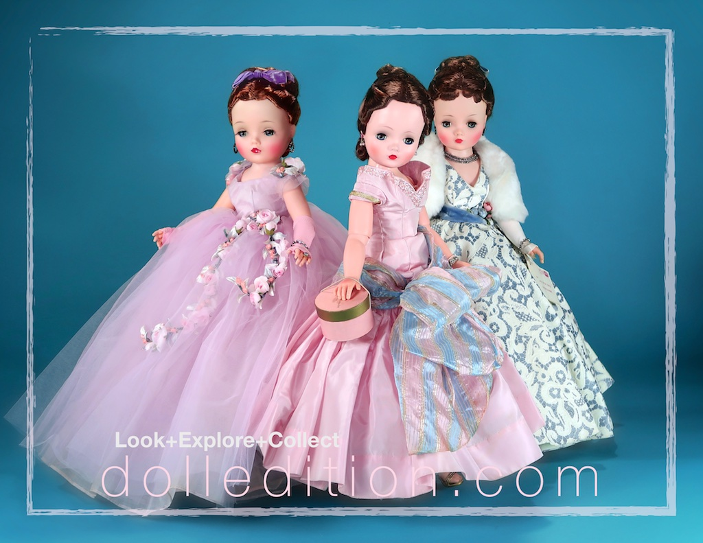 "From Left:1960 Cissy No. 2184 ""Belle of the Ball"", 1955 Cissy No. 2100 and 1957 Cissy No. 2172"