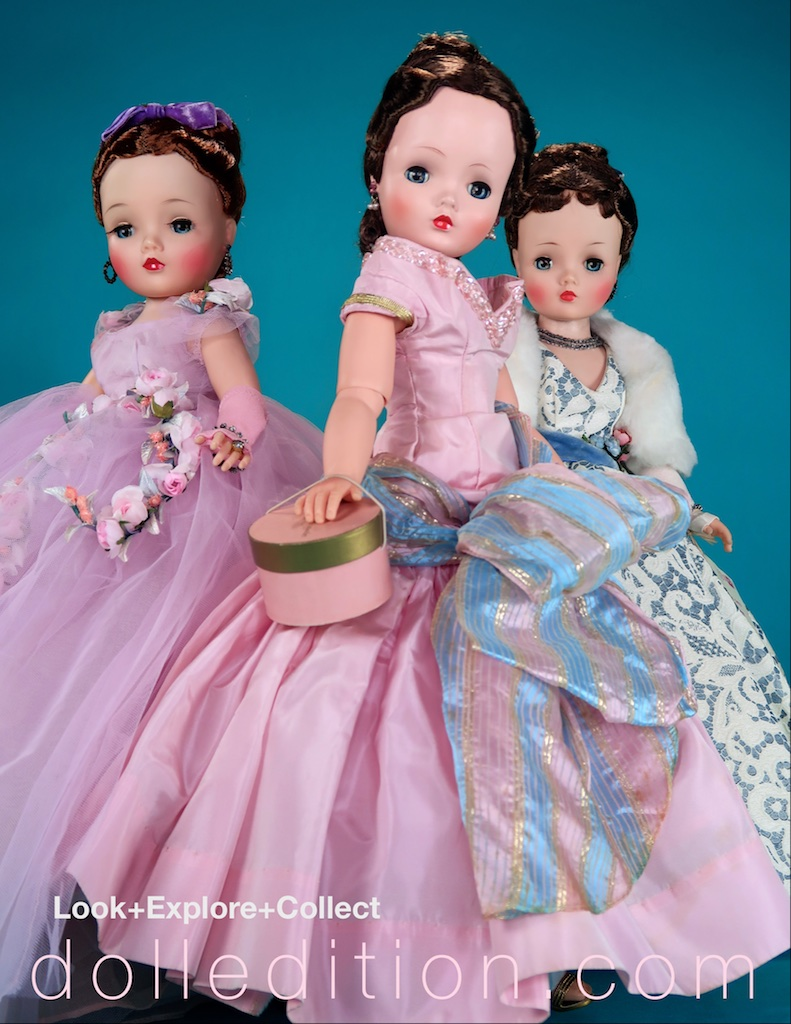 """It was another time, another moment of fashion and another era of dolls… 21"""" fashion doll Cissy by Madame Alexander exploded out of the 1955 New York Toy Fair."""