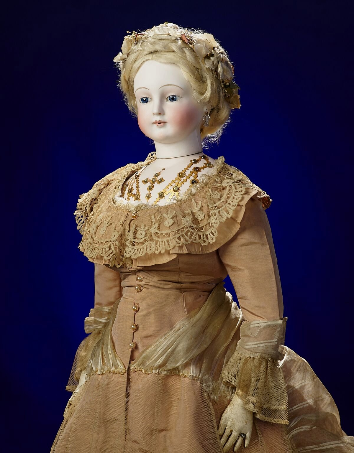 The Rochard Doll - Sold to Carolyn Barry for $333,500 by Theriault's - Now in the Barry Art Museum's collection.