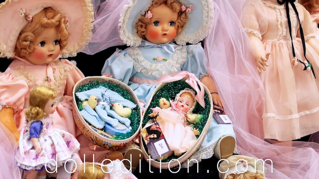Some of the rare and beautiful dolls from the  Rodney Waller Collection Part Two .