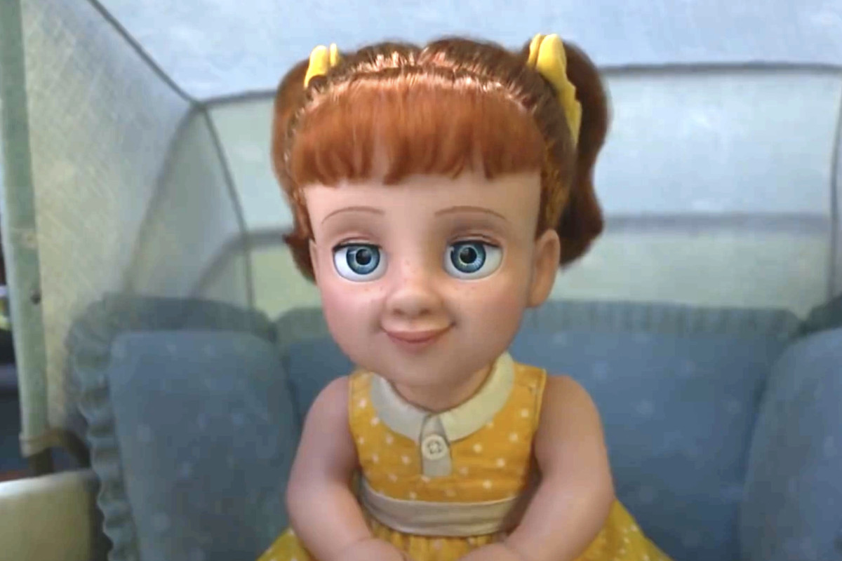 "The villain of Toy Story 4 - the talking doll ""Gabby."""