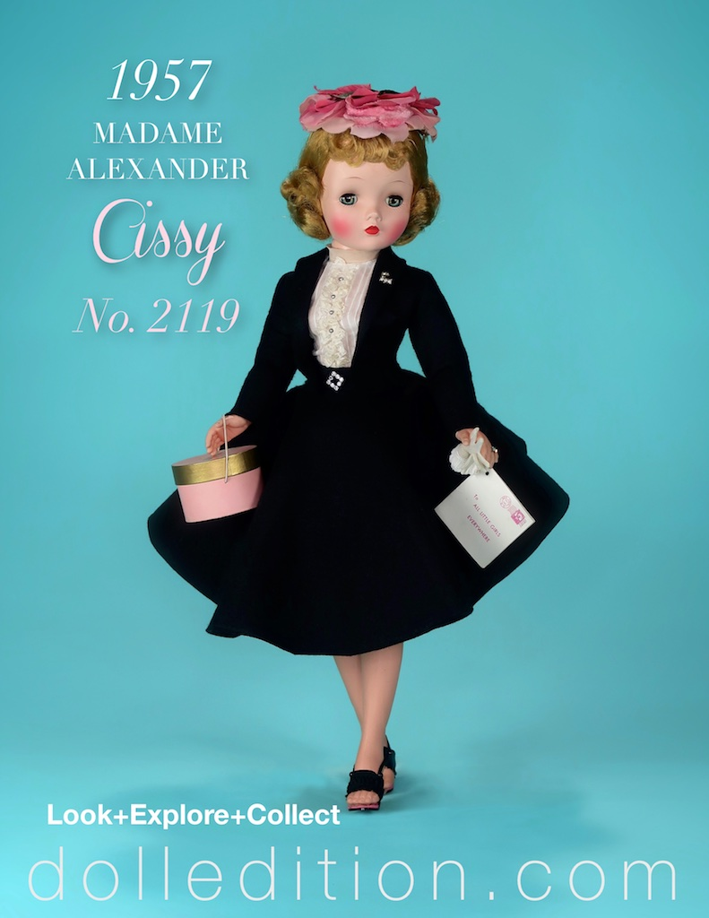 Cissy - 1957 N0, 2119 (mint in box) with all the accouterment needed of a fashionable young working debutante.