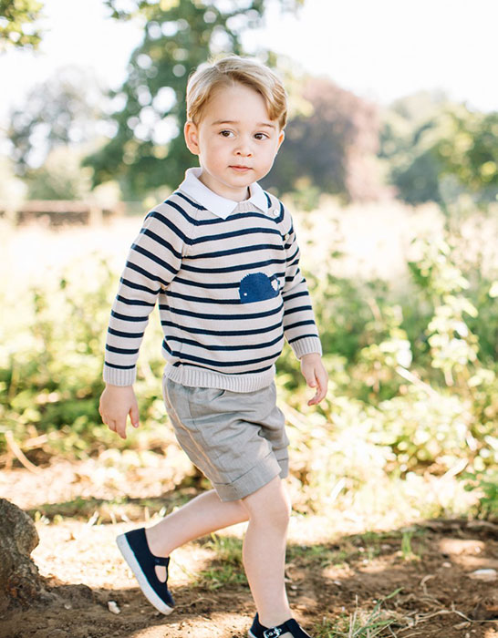 Prince George wearing Pepa & Co.
