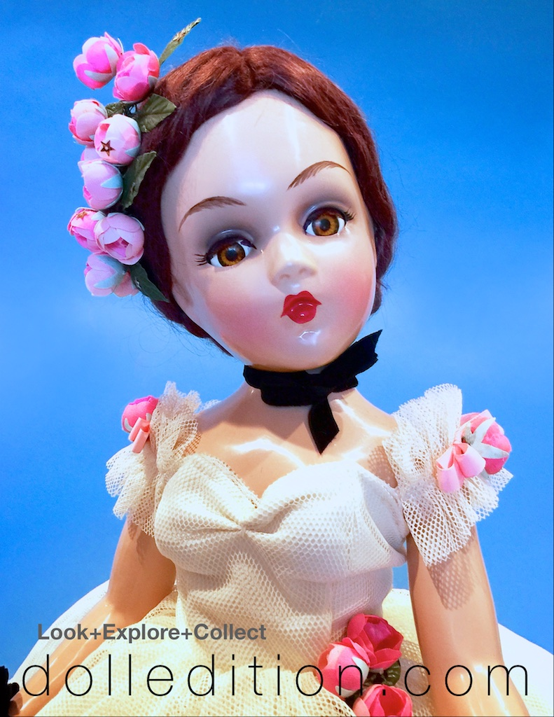 """1946 composition 21"""" """"Degas Ballerina"""" Portrait Doll by Madame Alexander - Photos are by Rodney Waller."""