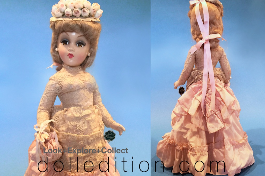 "1946 composition 21"" ""Godey Lady"" Portrait Doll by Madame Alexander - Photos are by Rodney Waller."