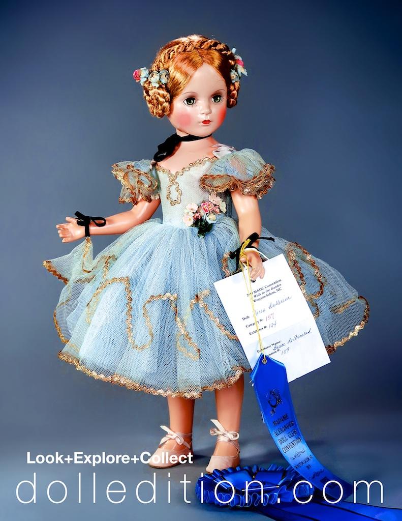 "Winston-Salem, NC, 2019 - 1946 ""Karen Ballerina."" 21 inch Composition by Madame Alexander"