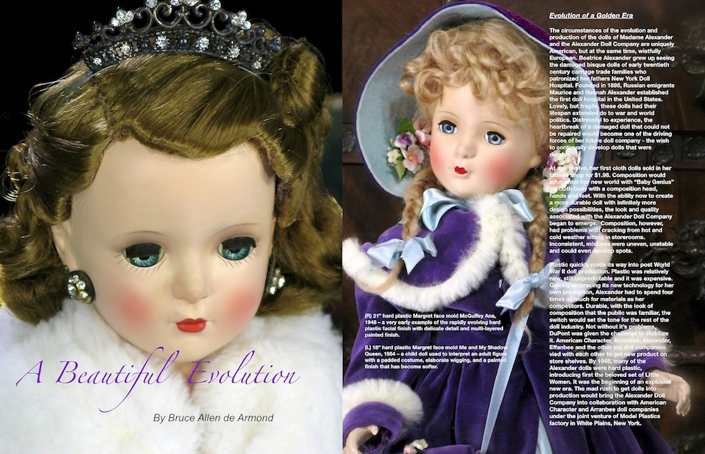 """I had just acquired the """"McGuffey Ana"""" - a year of payments to the very patient owner had concluded. I was at the beginning of what would become a long journey of research and discovery on how the parts and pieces of Madame Alexander and her world."""