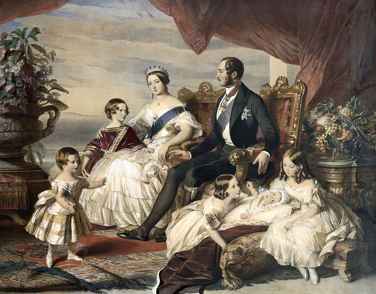 Queen Victoria, Prince Albert and the royal family.