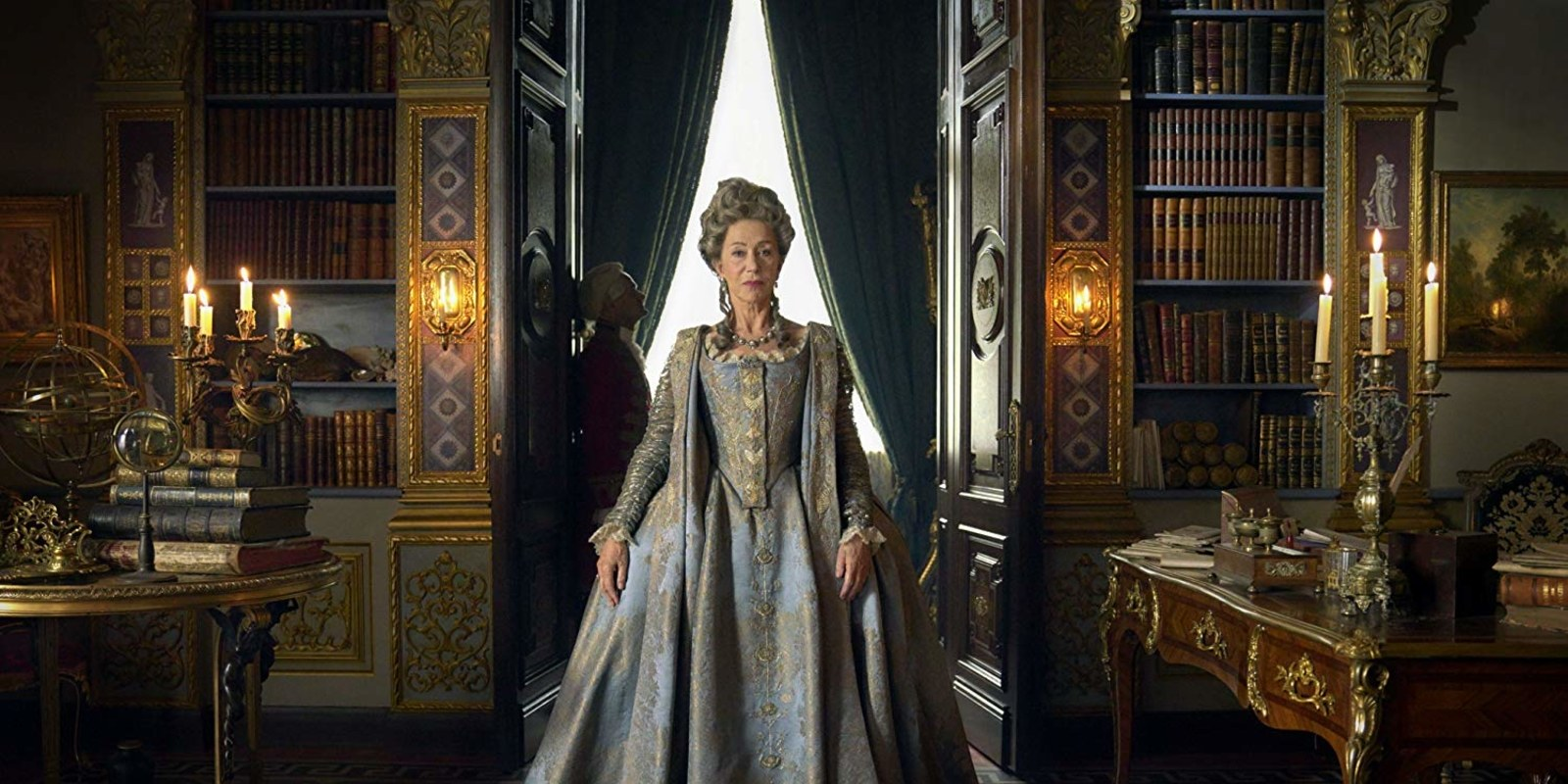 A very regal Helen Mirren in HBO's Catherine The Great