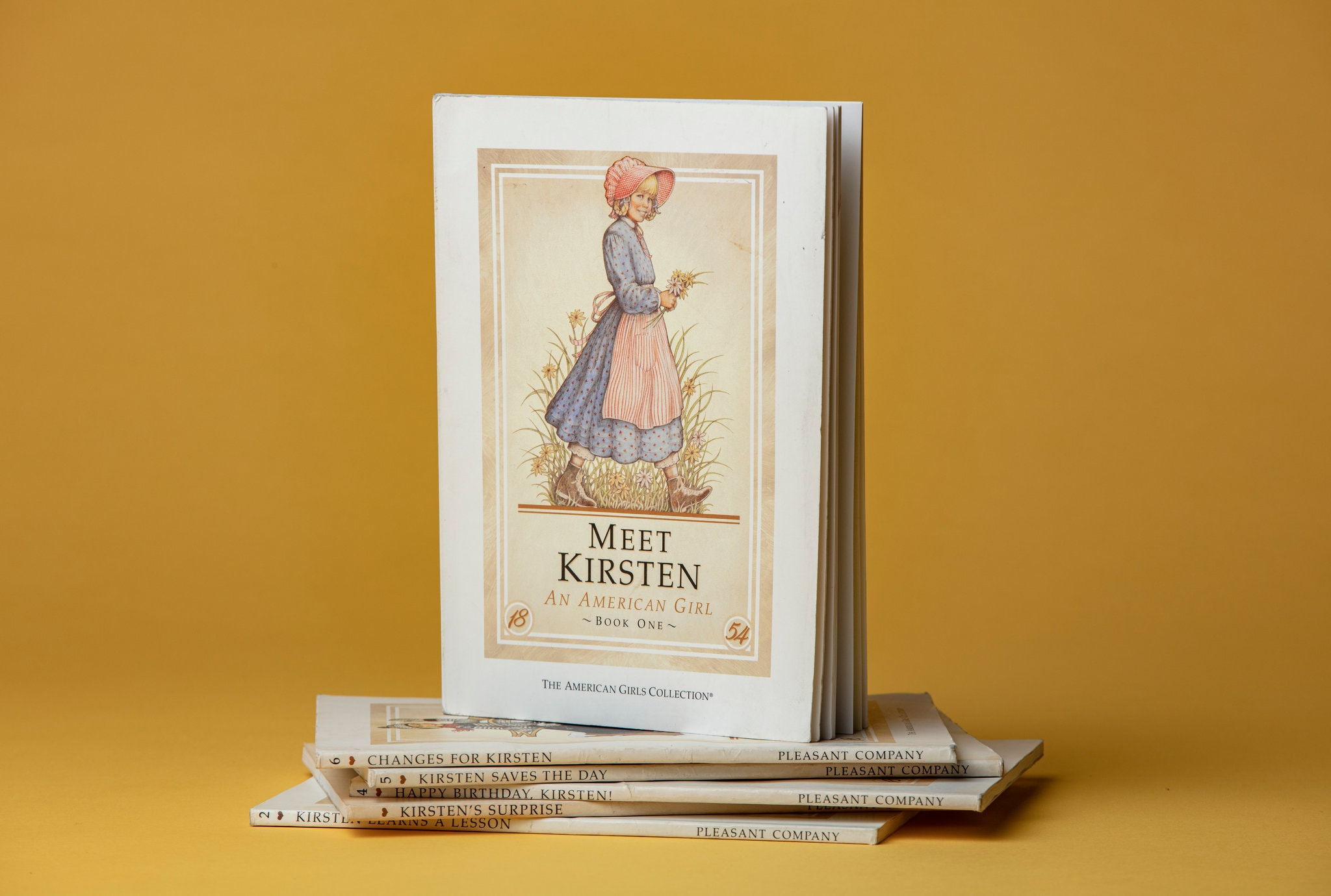 - The six-book collection of Kirsten's adventures.