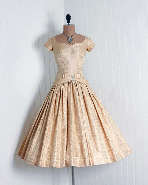 - The drop-waist cocktail dress was a new midcentury fashion trend.