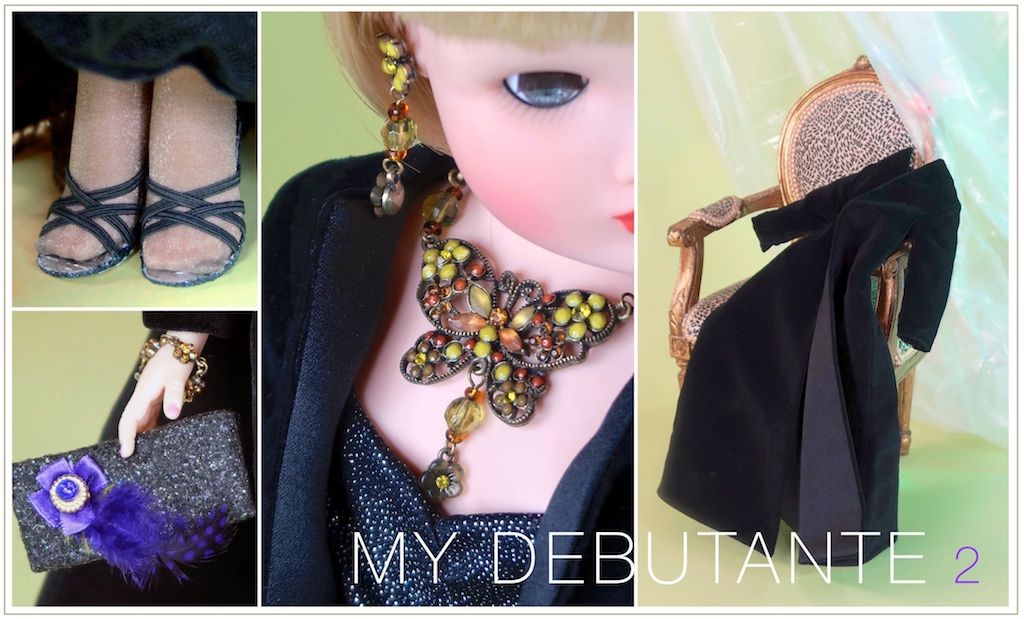 "MY DEBUTANTE 2 is a collection of fashion and fashion accessories - jewelry, shoes, hats, and purses and accents that make it come alive and help take ""Cissy"" on her newest adventure."