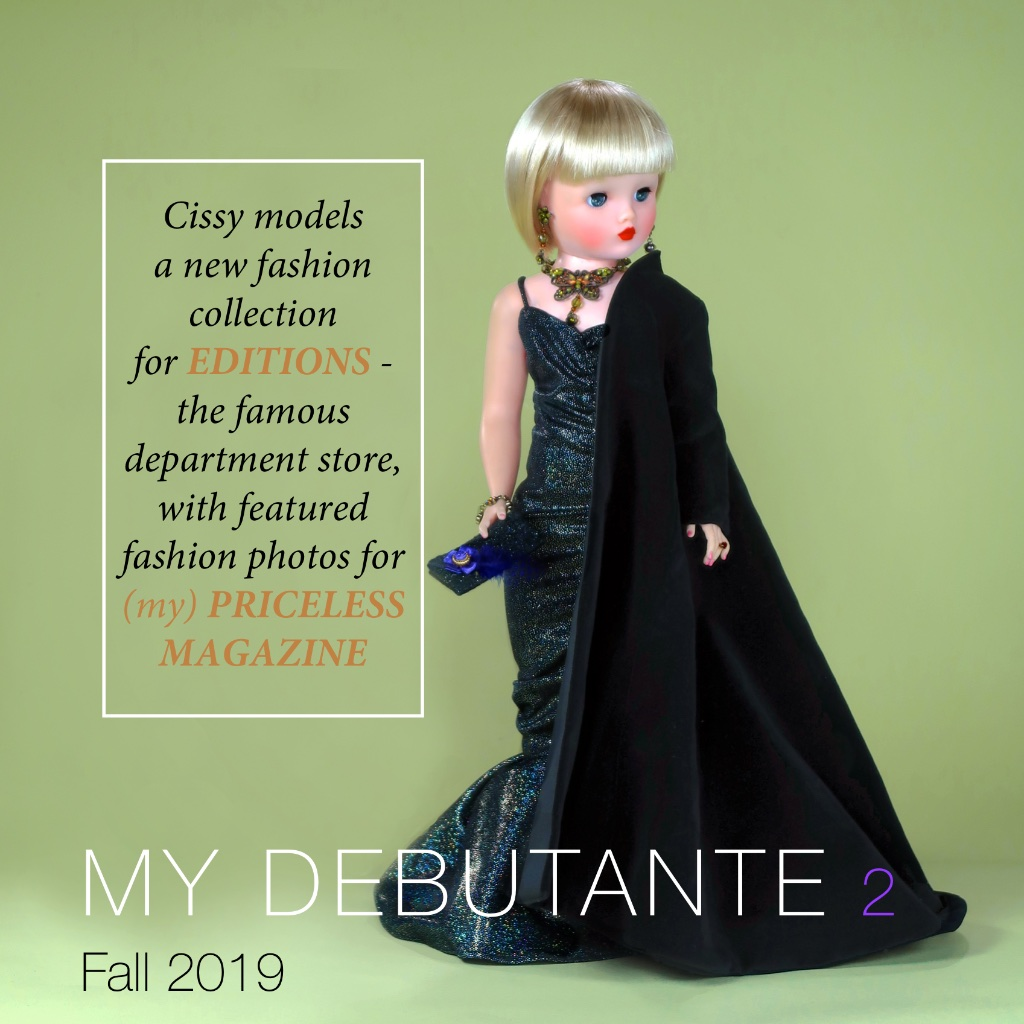 "It's all for fun - and a little bit silly. ""Cissy"" has been busy and is about ready to share her newest dolledition.com fashion experience. Come along for the fashion show and backstory!"