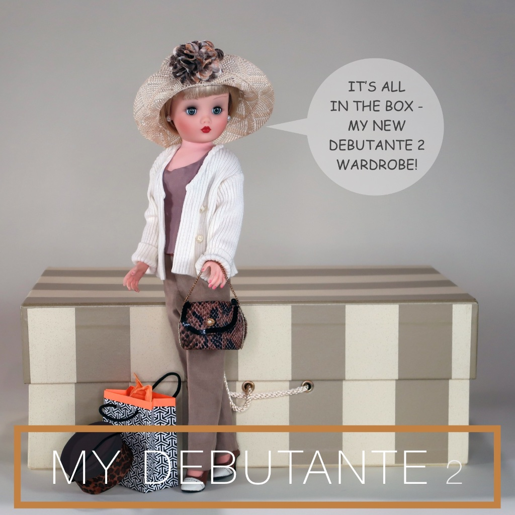 """Cissy"" has found a way to be both a fashion doll and have a career with her new adventure showcasing MY DEBUTANTE 2 fashions for Editions Department Store."