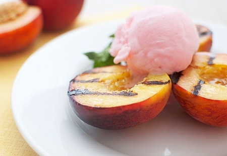 Grilled Peaches and Pears