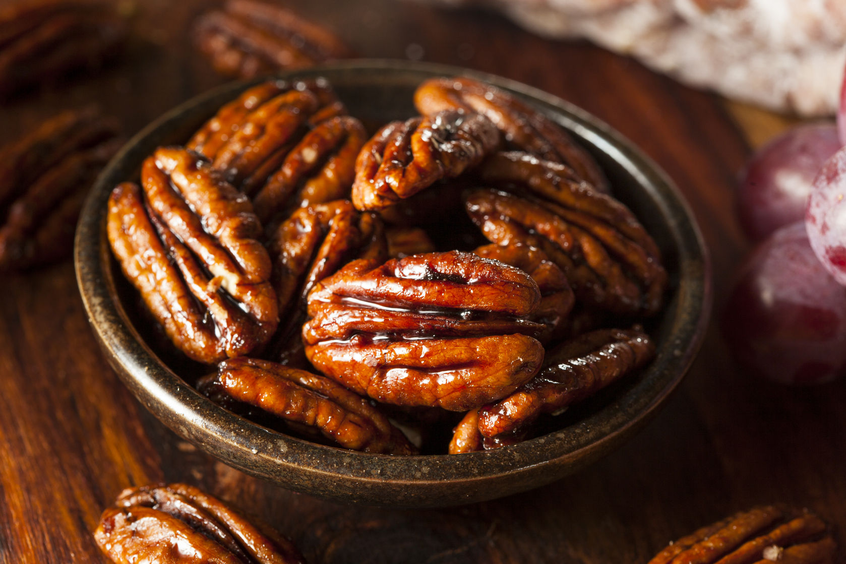 Cinnamon Butter  Roasted Pecans