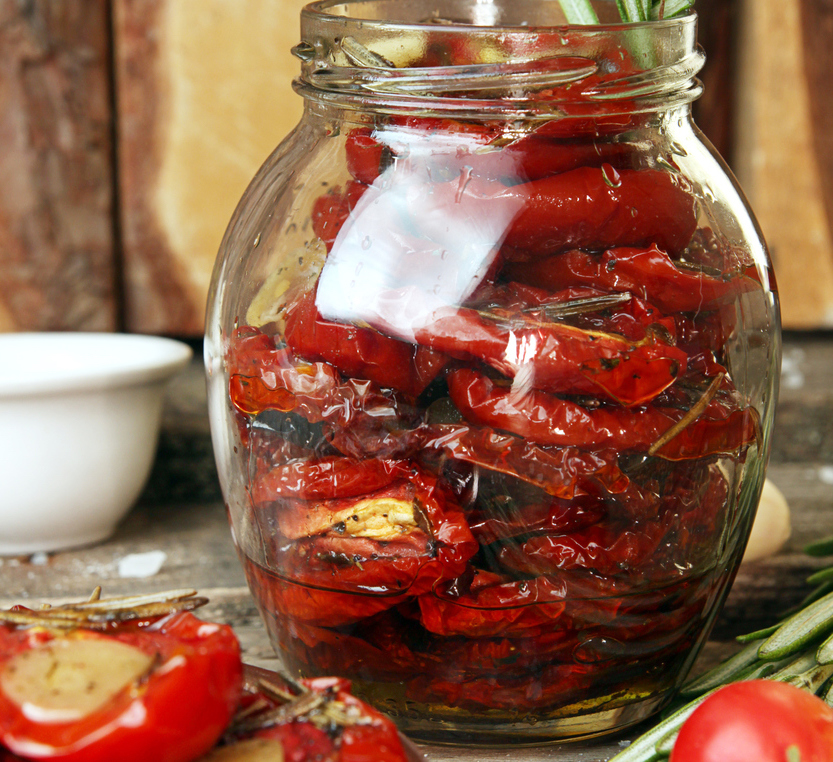 Dried Tomatoes in Olive Oil