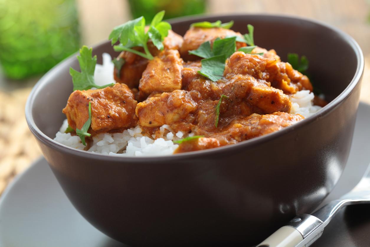 Baklouti Chili Chicken Curry
