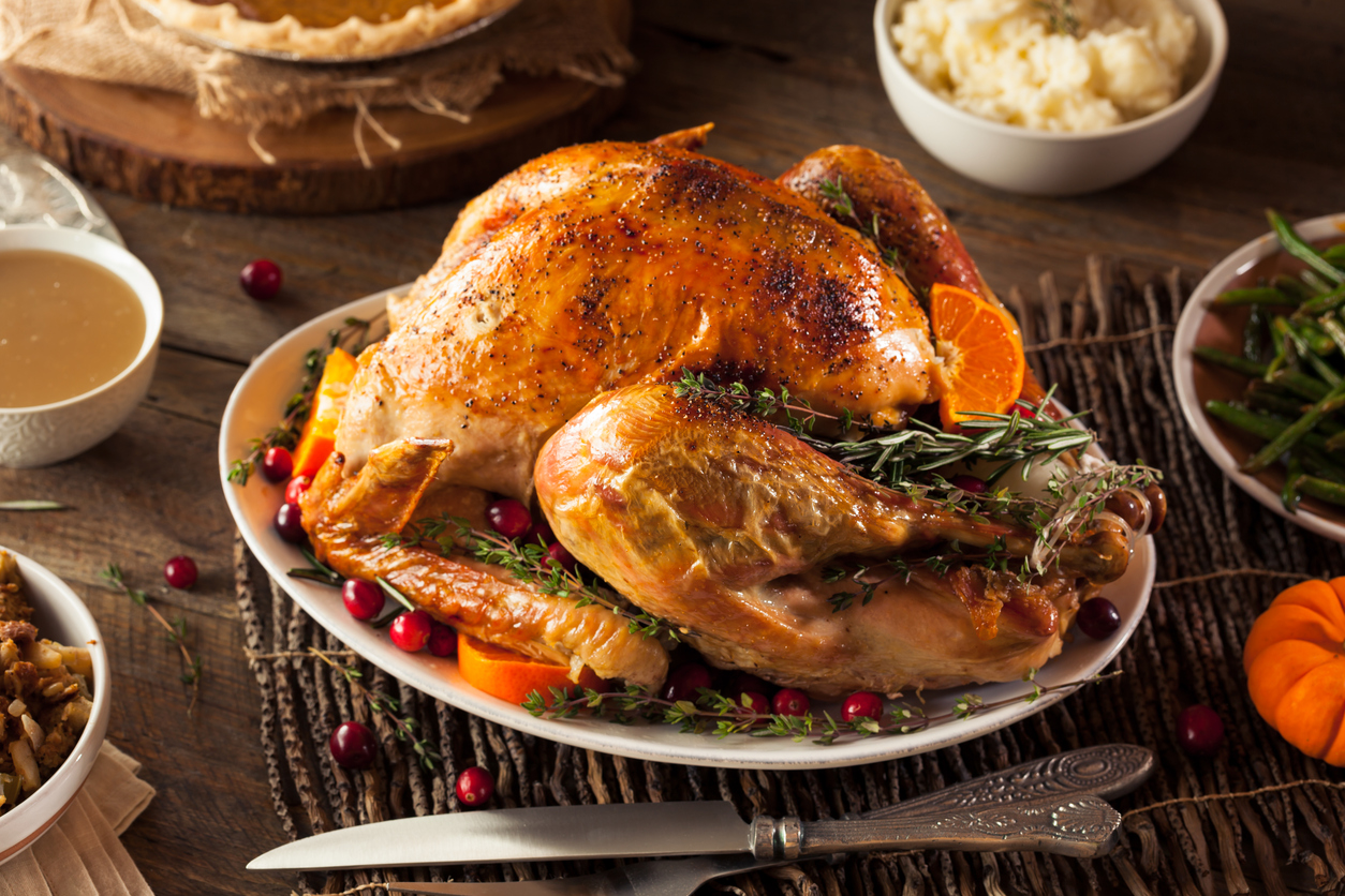 The Vintage Olive's Turkey with Injection Marinade