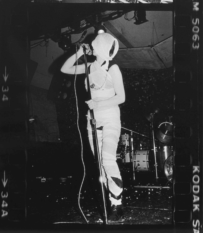 Bruce Conner, DE DETROIT UXA, 1978, unique black and white photograph, 40 3/4 x 36 1/4 inches