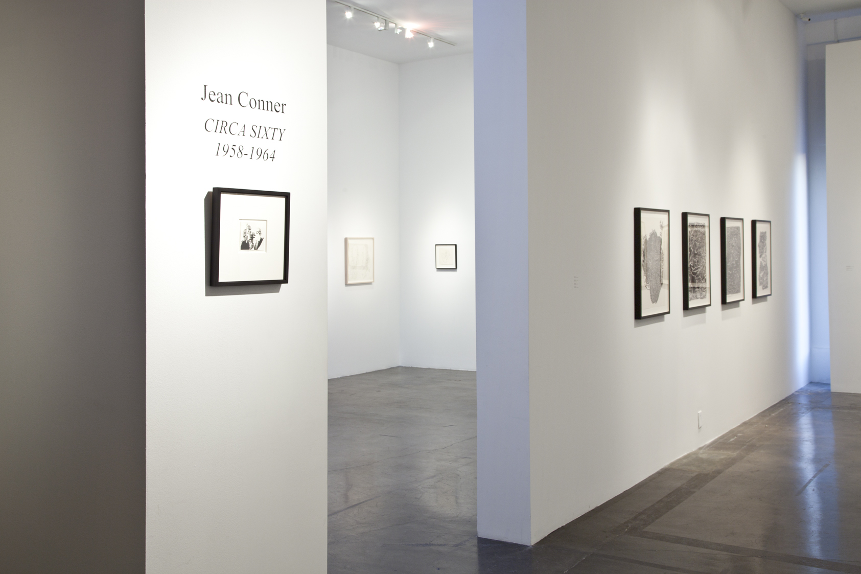 CIRCA SIXTY: Bruce Conner & Jean Conner 1958 to 1964,  November 11, 2011– January 4, 2012
