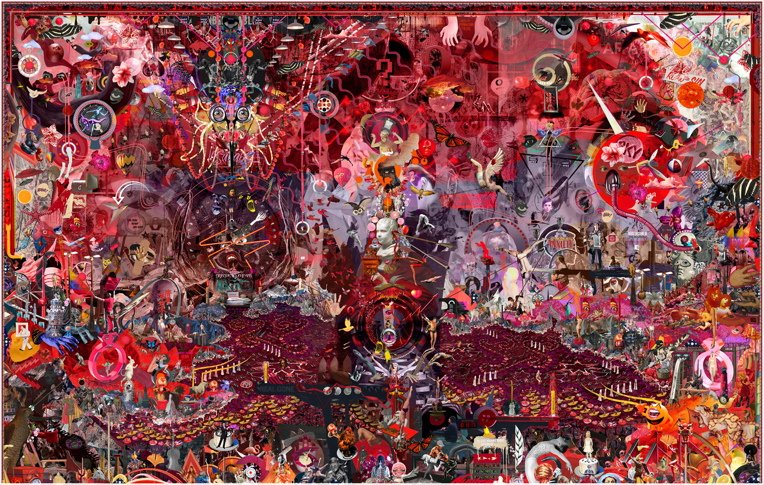 Simmons & Burke,  If Not Summer #3,  2010, c-print & custom audio software, 58 x 90 3/4 inches, Edition of 5, 2 AP