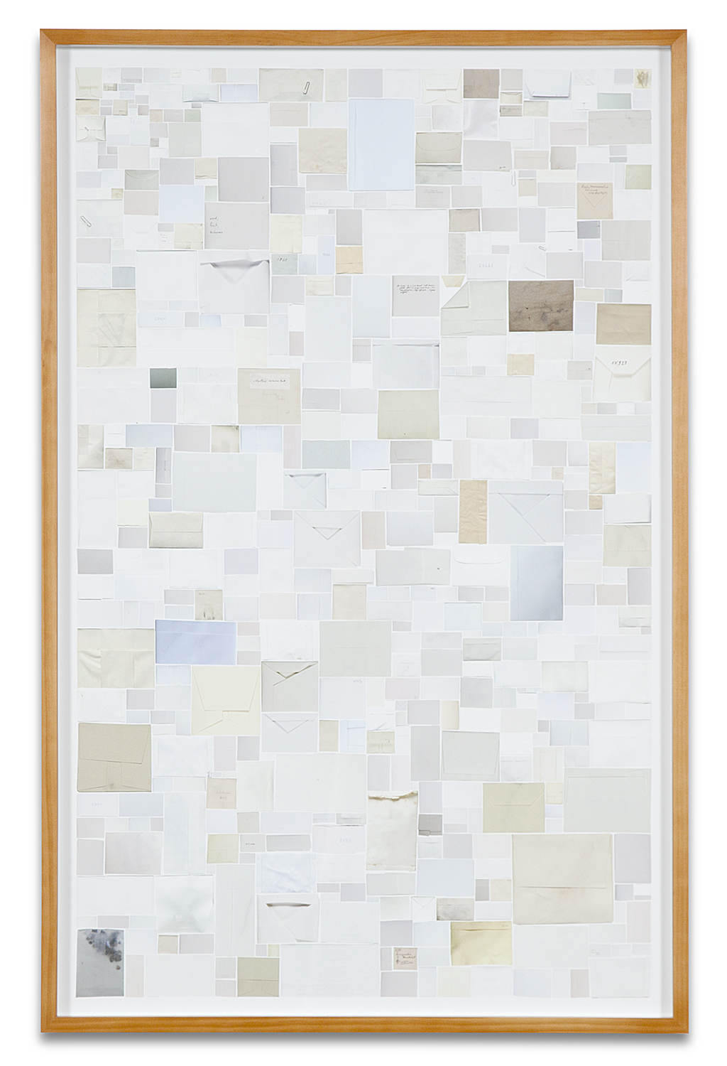 Simmons & Burke,  Enveloped Specimens #1,  2013, pigment print, 45 x 29 inches, Edition of 3