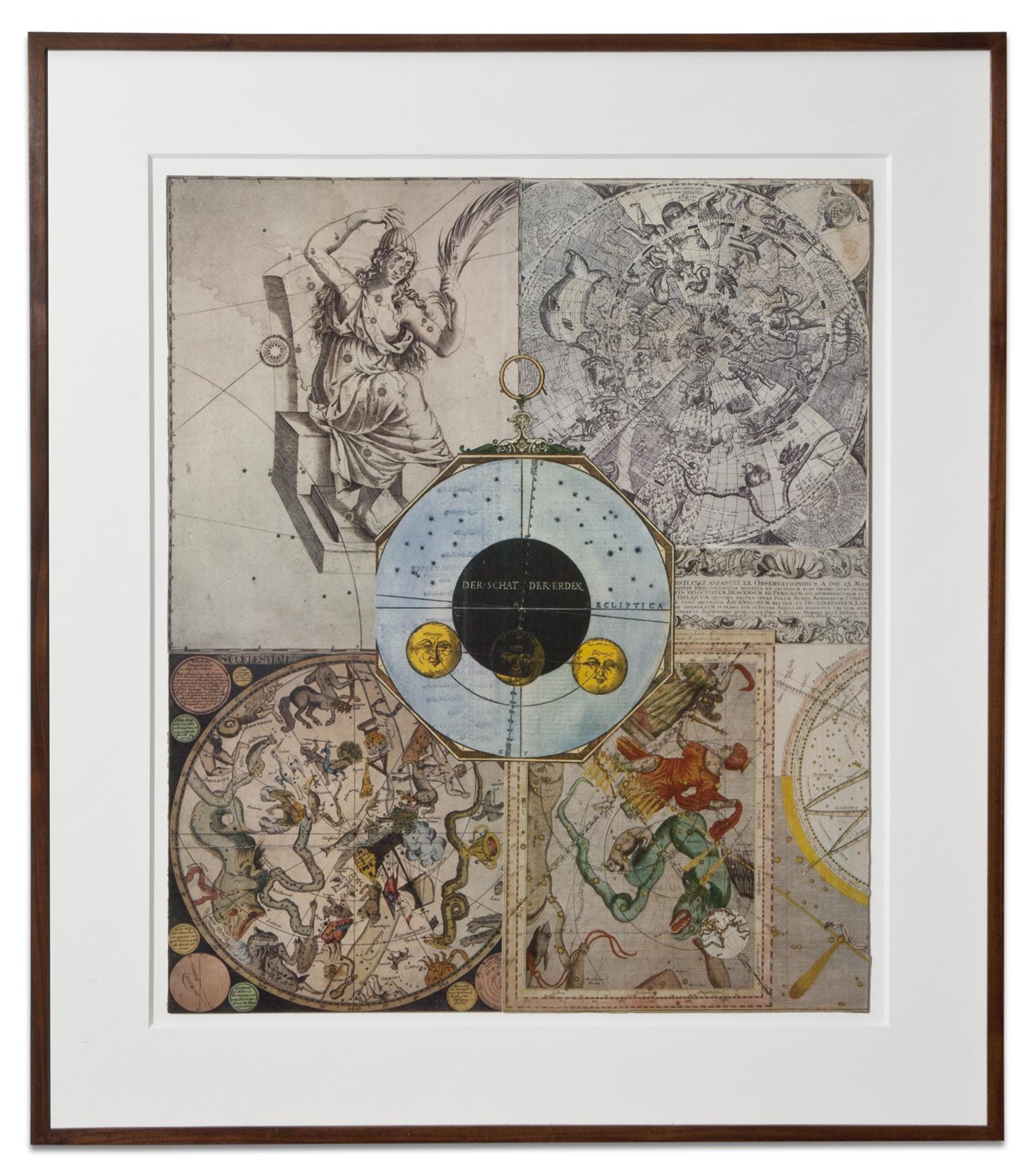Lawrence Jordan, DER SCHAT DER ERDEN, 2014, collage, 24 X 20 inches