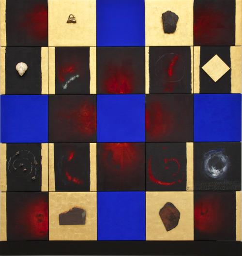 Lita Albuquerque,  Wave of Breath , 1989, mixed media