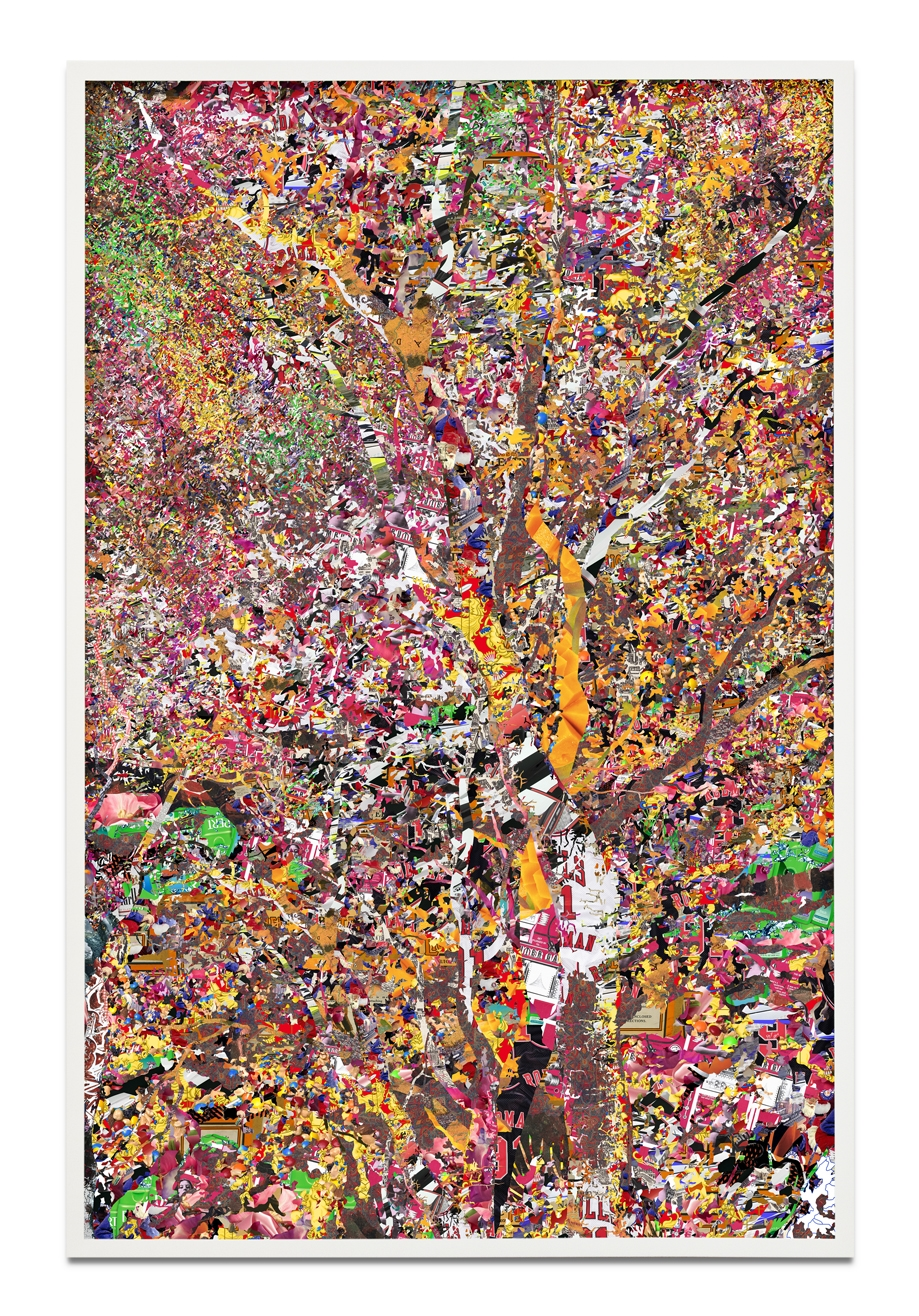 Simmons & Burke,  Cherry Bomb , 2015, pigment print, 89 1/2 x 58 1/2 inches, Edition of 3, 2AP