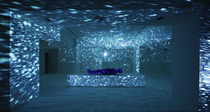 Particle Horizon, 2014, Laguna Art Museum (photo credit: Eric Stoner)