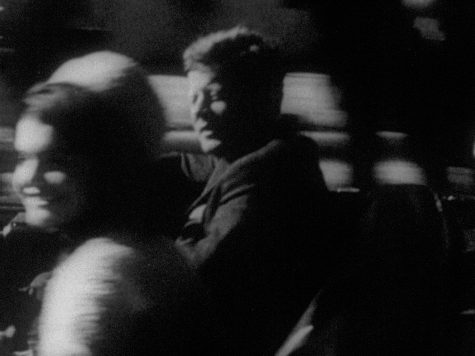 REPORT 1963-67, 16mm to 35mm blow-up, b&w/sound, 13min
