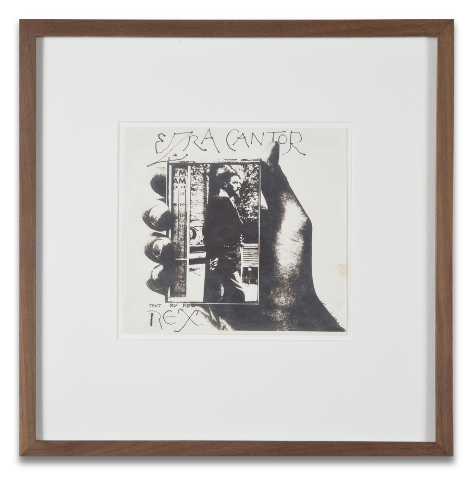"Copy of ""Untitled #112"" , c. 1964-76, Verifax collage, 6 x 6 1/2 inches, framed 12 x 12 1/2 inches"