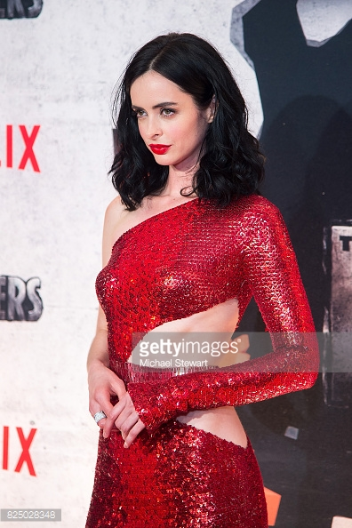 Krysten Ritter, August 2017, Cigar Ring