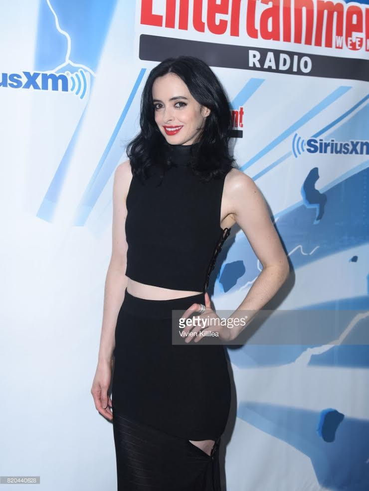 Krysten Ritter, July 2017, Double Cigar Ring