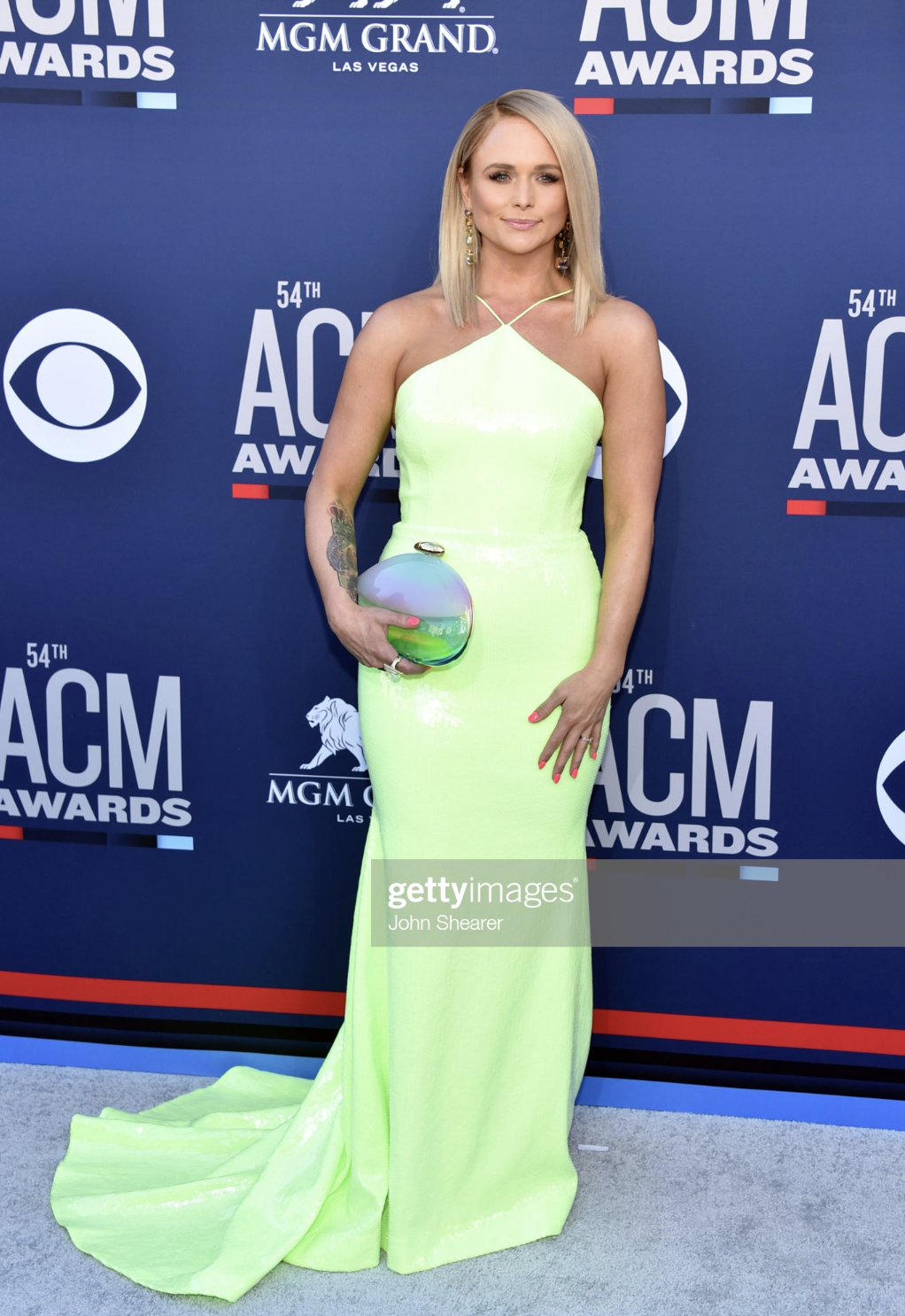 Miranda Lambert, April 2019, Mirror Cut Aquamarine RIng