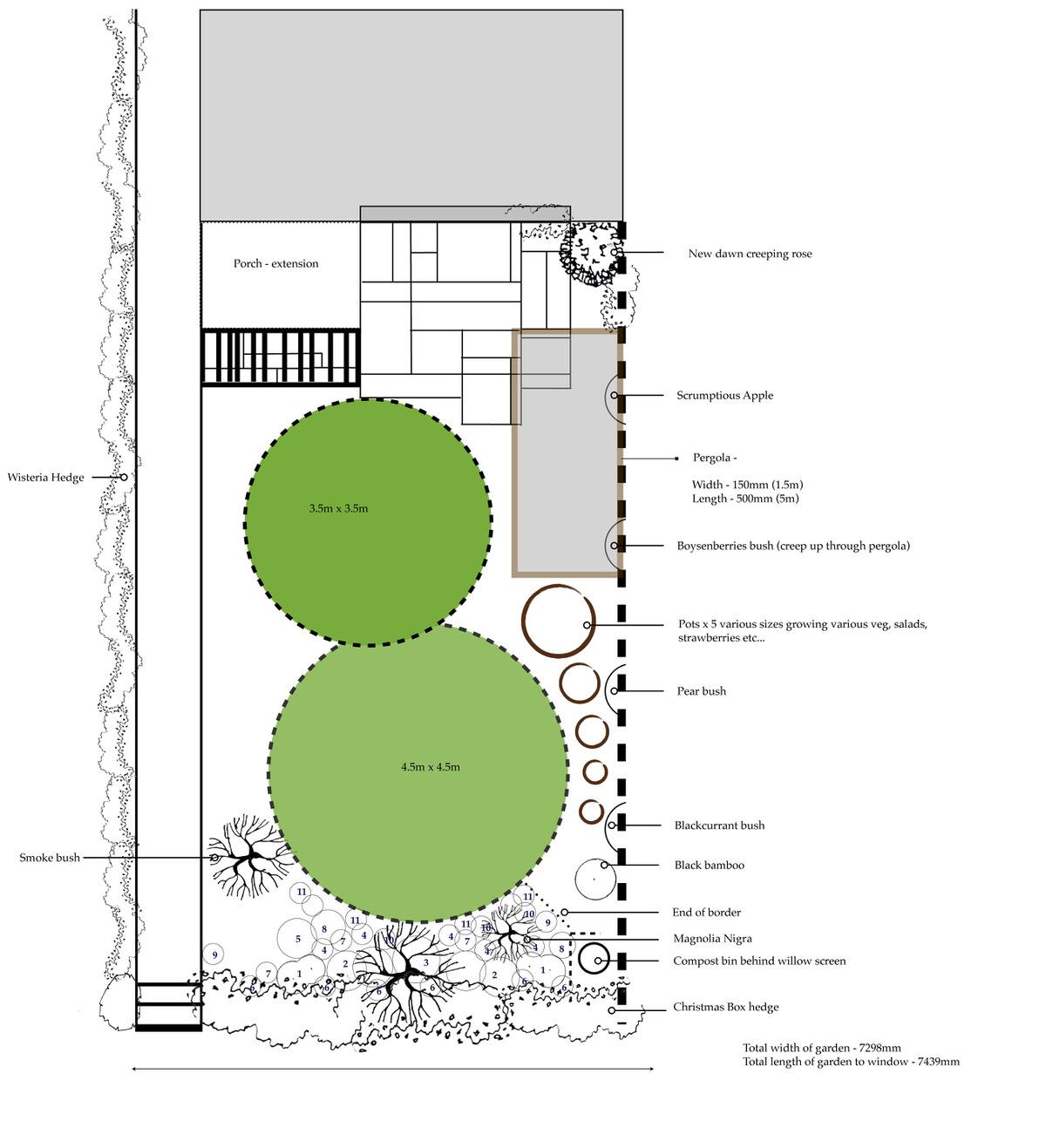 Front garden concept