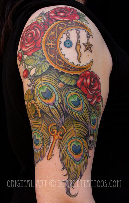 Gypsy Goddess arm piece