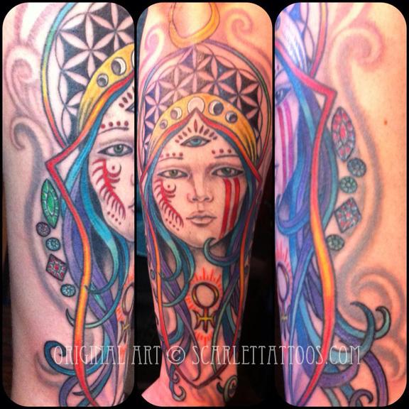Psychedelic Goddess