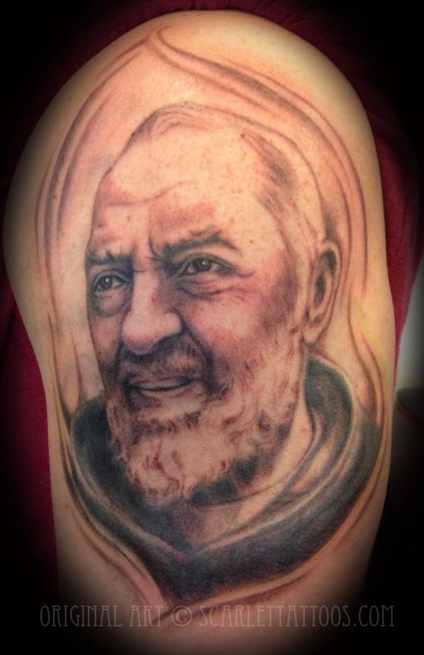 Padre Pio portrait