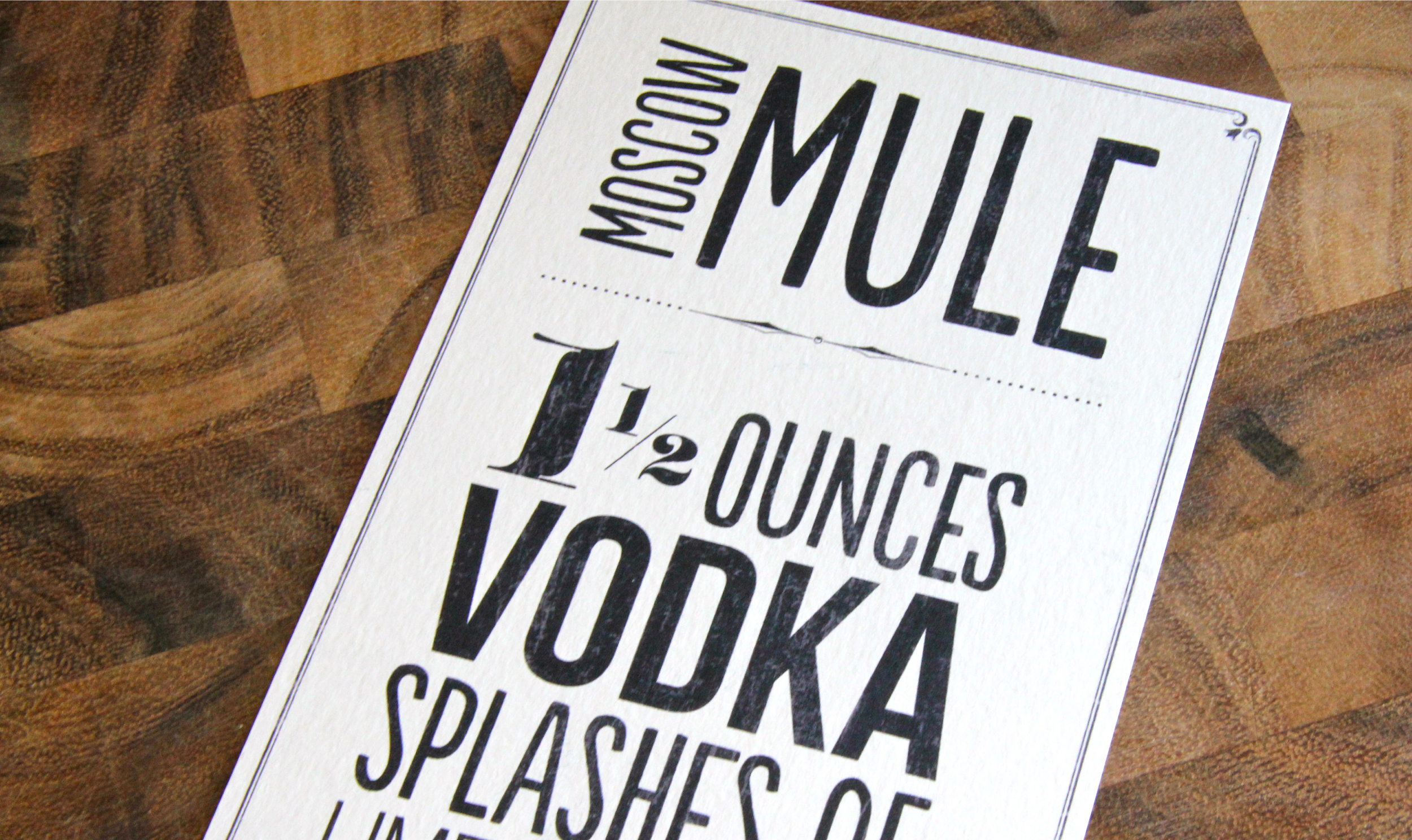 photo about Moscow Mule Recipe Printable named Cocktails Moscow Mule Katie Noel