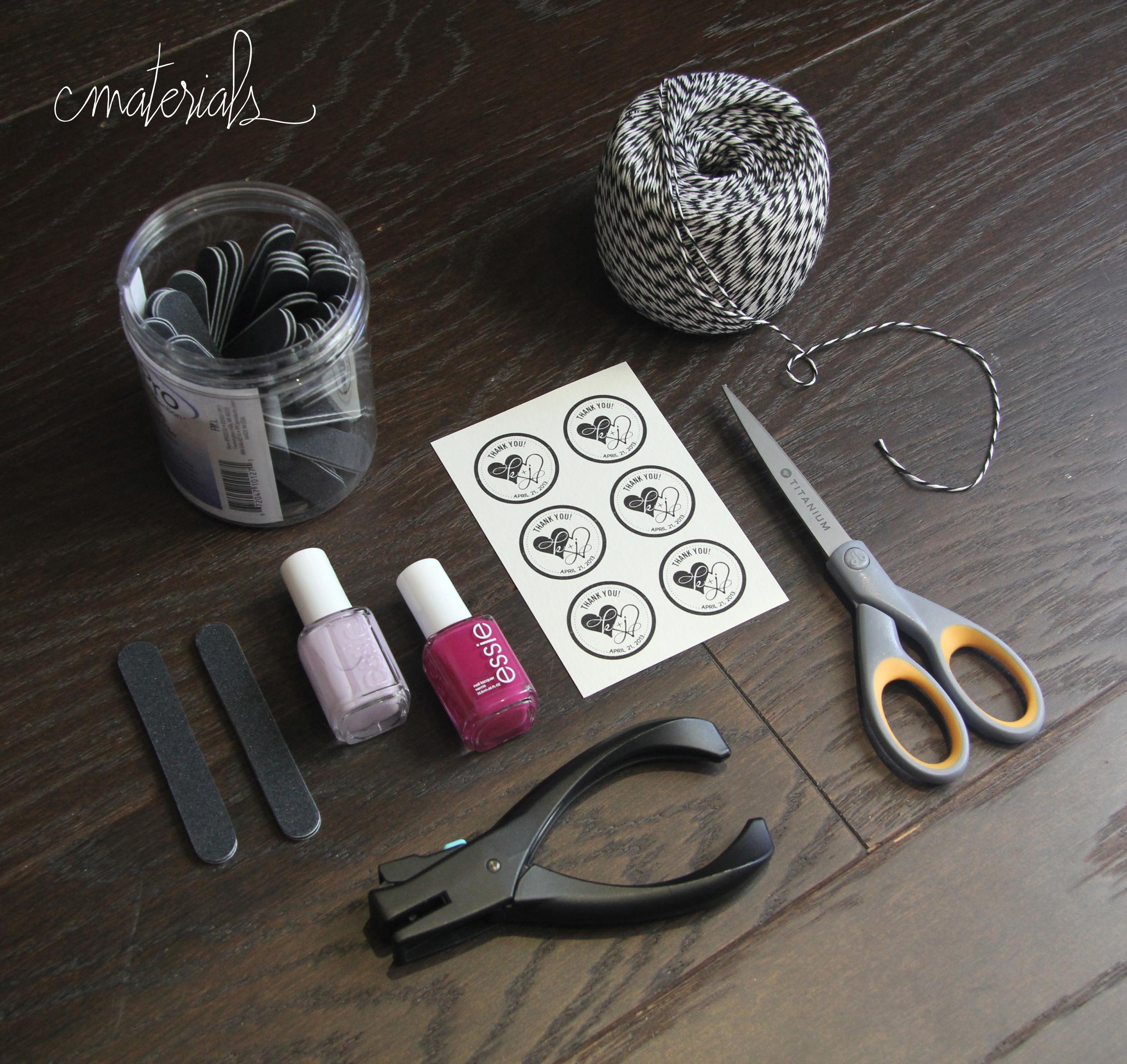 Nail Polish Favors - Materials.jpg